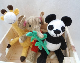 Amigurumi Zoo set pattern