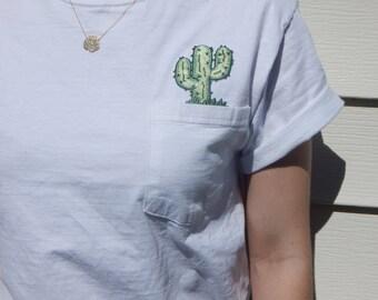 Cactus Pocket Tee **FREE SHIPPING**