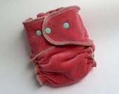 Custom Velour Fitted Diaper For M