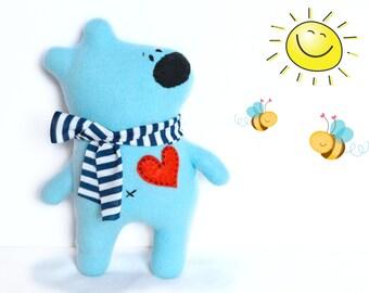 Teddy bear, toddler gift, stuffed animal, teddy bear baby shower, gift for kids, plush toy, soft toy, stuffed animal, plush bear