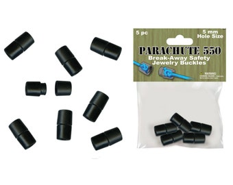 Paracord Safety Break-Away Barrel Buckles 5 pack