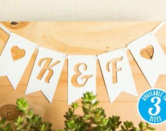 Wedding Banner, Custom Banner, Wedding Signs, Personalized Banner, Bridal Shower Banner, Rustic Wedding, Wedding Decoration