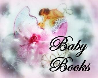 Baby Book Girl, Baby Boy, Baby Memory Book, Albums, Scrapbooks, Journal