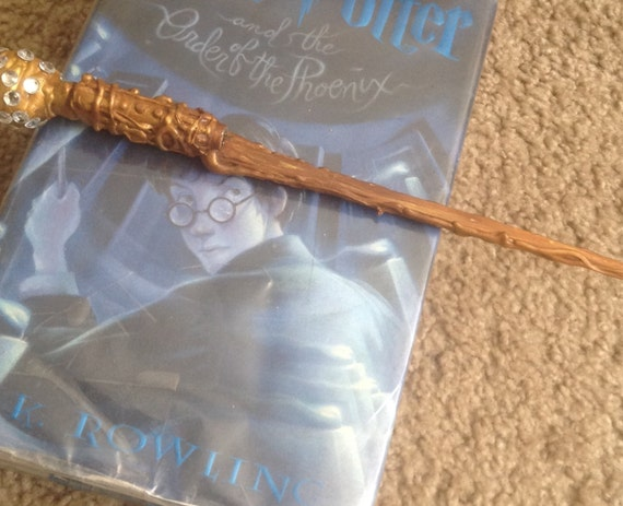 Harry potter inspired wand with red laser pointer and by for Galaxy wand laser pointer