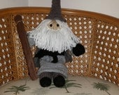 "Knitted Gandalf , approx. 22"" tall"