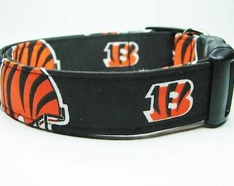 Cincinnati Bengals Dog Collar