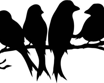 Birds SVG File