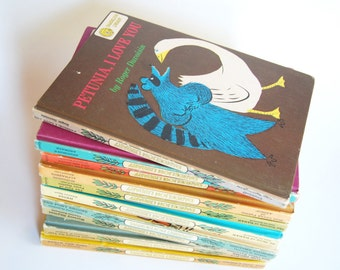 Vintage Collection of Children's Books, Dandelion Library, Two in One Flip Books