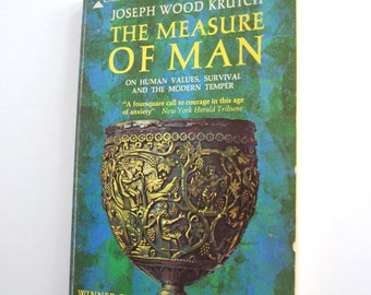 Vintage Book, The Measure of Man