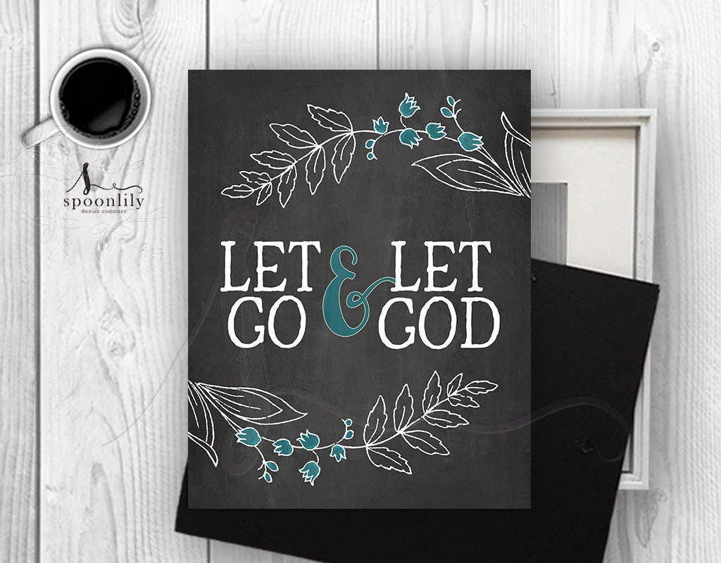 Bible verse art print let go let god wall decor chalkboard bible verse art print let go let god wall decor chalkboard bible verses let go bible verse art let god scripture print wall art print amipublicfo Gallery
