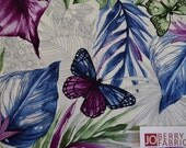 Butterfly Forest Collection by Ann Lauer of Grizzly Gulch Gallery for Benartex, Quilt or Craft Fabric, Fabric by the Yard.
