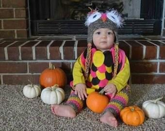 baby owl costume etsy - Baby Owl Halloween Costumes