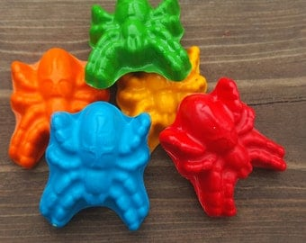 Spider Crayons set of 40 - party favors
