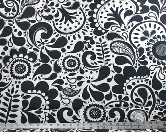 Gray and White IKEA Canvas Fabric - IKEA Home Decor Fabric - Design Eva Lundgren 2011