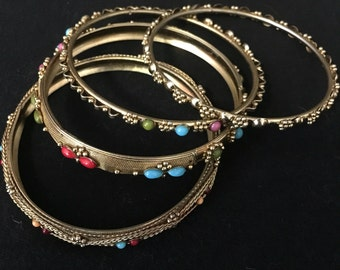 Cute and colorful bangles