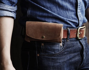GRAMS28 | iPhone 6 / 6s / 7 leather Holster with card holder, iPhone 6 / 6s / 7 Leather Case, iPhone 6 / 6s / 7 leather Wallet