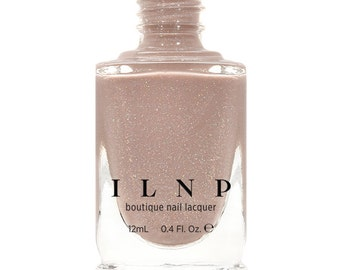 Chleo - Neutral Blush Pink Holographic Sheer Jelly Nail Polish