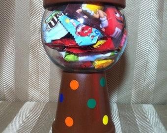 M&M Inspired Candy Jar