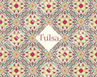 Tulsa Paisley 2 Pillow Cover