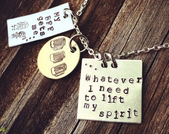 Hand Stamped: My Best Friend BFF Gets Me Necklace