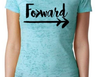 Forward Burnout Tee