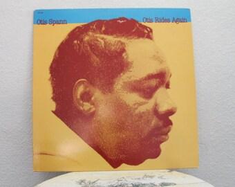 """Otis Spann - """"Otis Rides Again"""" vinyl record"""