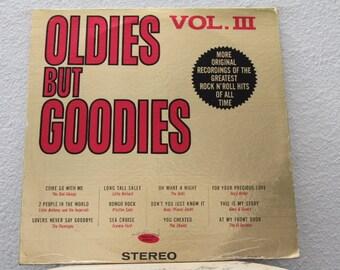 Oldies But Goodies Vol. 3, vinyl record