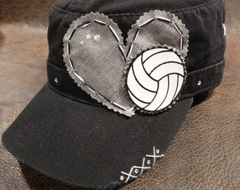 Volleyball LOVE Cadet Hat