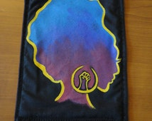 Afro Silhouette Patch
