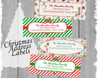 Christmas Address Labels