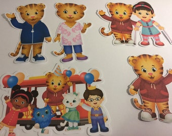 Daniel Tiger Friends and Family Die Cuts Qty 5