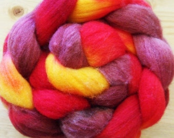 "Merino Fiber, ""Smaug The Magnificent"" 4oz"