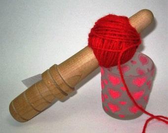 Sycamore: Handturned Nostepinde (Yarn Ball Winder) JY-058