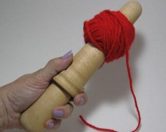 Sycamore: Handturned Nostepinde (Yarn Ball Winder) JY-059