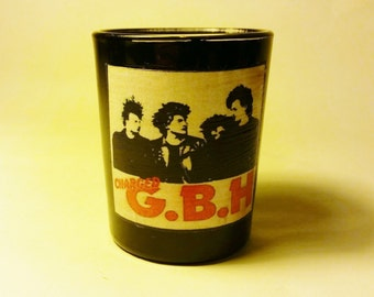 GBH Black Votive Candle