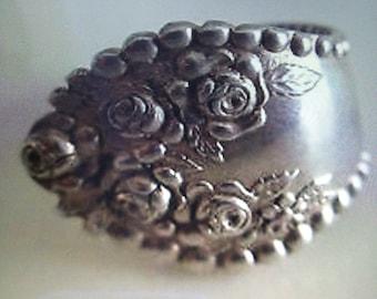 Sale 22.99......Vintage gorham Sterling silver spoon ring 7 1/4