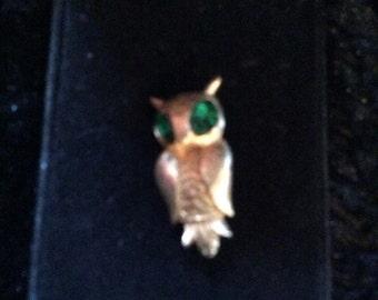 Owl brooch 1 in