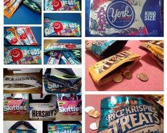 Handmade candy bag coin purse