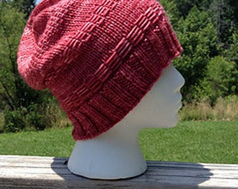 Emma and Dillon Knitted Hat Pattern ONLY