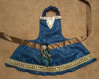 Disney Princess Brave Merida Dress Up Apron Costume