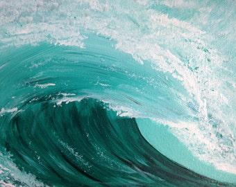 Ocean Wave - Original Fine Art Painting