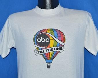 70s ABC Rainbow Hot Air Balloon t-shirt Small