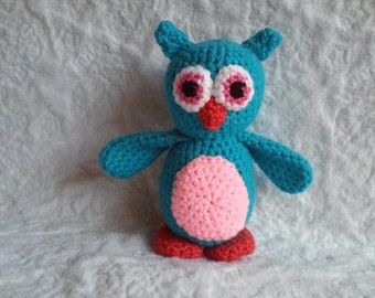 Crochet Pattern - Hooty the Baby Owl