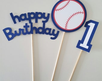 Baseball Centerpiece, Baseball Birthday, Baseball Party, Sports Birthday, Baseball