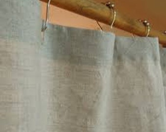 Customers own fabric ~ Made to order Shower Curtain ~ COM