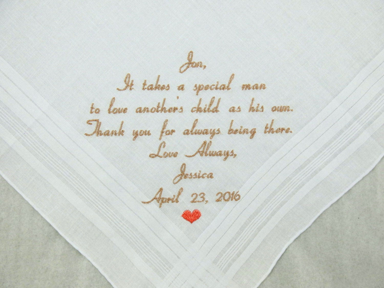 Bride Gift Father Of The Sayings: Step Father Of The Bride Gift Step Dad Wedding Gift
