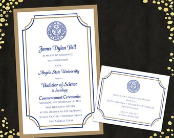 Qty 25 College Graduation Invitations Announcements Nursing