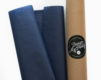 Navy Tissue Paper (20 or 40 Sheets) 500mmx760mm