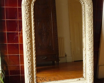 Painted Antique French Louis Philippe Mirror