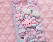 Lilac Galaxy back case for Iphone 4 4s 5 6 7 8 X Galaxy s3 s4 s6 s6 s7 s8